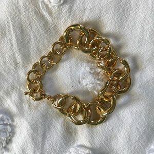 Baublebar Gold Link Bracelet
